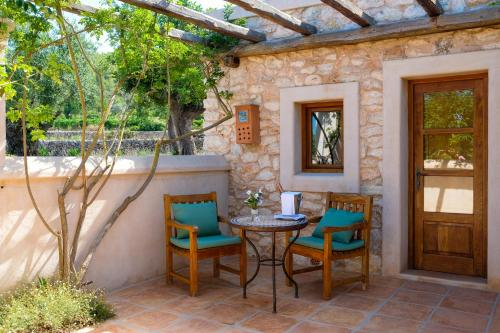 Deluxe Double or Twin Room with Terrace Can Lluc Hotel Rural 9