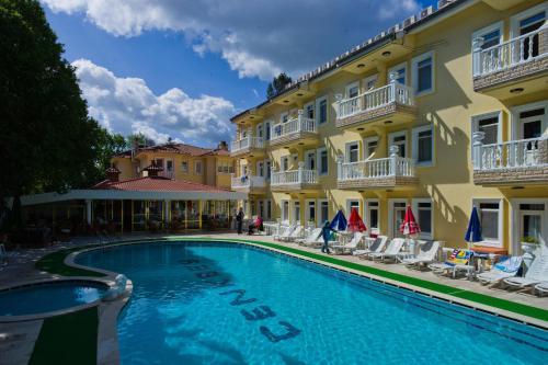 Fethiye Cenk Bey Hotel map