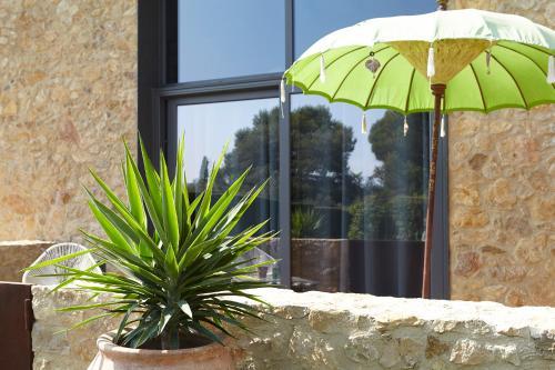 Suite con vistas al jardín Hotel Can Casi Adults Only 11