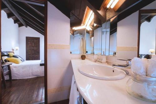 Doppelzimmer mit Bergblick Hotel Santa Maria Relax 18