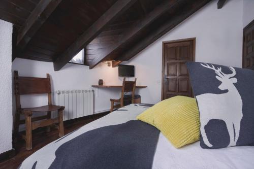 Doppelzimmer mit Bergblick Hotel Santa Maria Relax 11