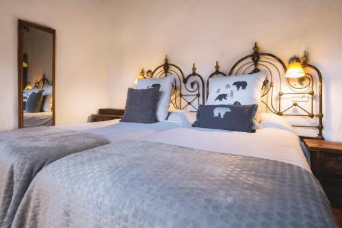 Doppel-/Zweibettzimmer mit Bergblick Hotel Santa Maria Relax 5