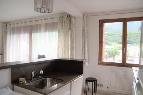 Apartmán s výhledem na hory (Apartment with Mountain View)