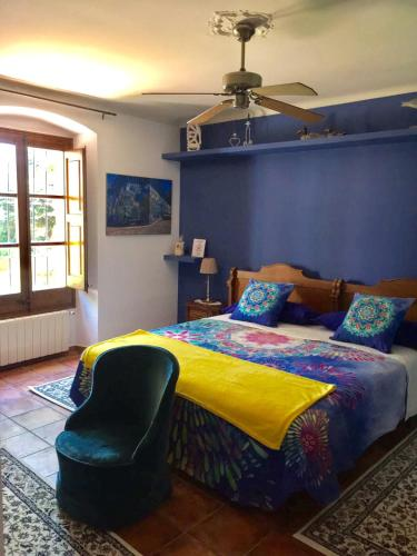 Habitación Cuádruple con baño compartido - Uso individual Mas de Baix 8