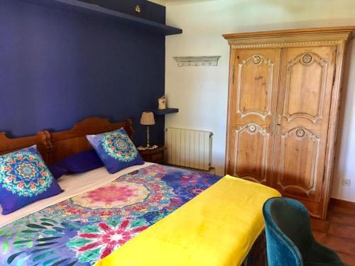 Habitación Cuádruple con baño compartido - Uso individual Mas de Baix 6