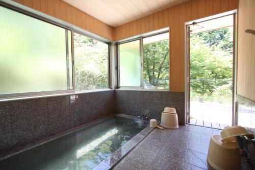 Cottage with Private Hot Spring Bath