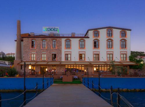Ayvalık Bacacan Otel adres