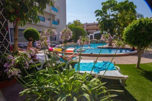 Reception At Playamarina 1 Aparthotel