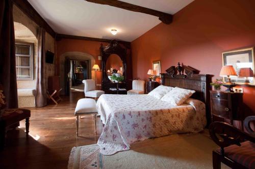Superior Double Room Pazo de Bentraces 15
