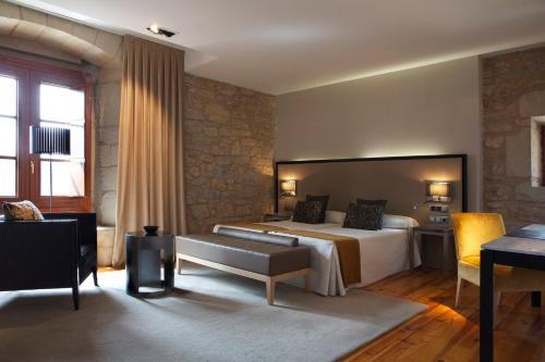 Double or Twin Room Hospedería Palacio de Allepuz 9