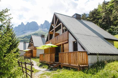 Les chalets de Pré Clos en Vercors - Chalet - Saint-Andéol