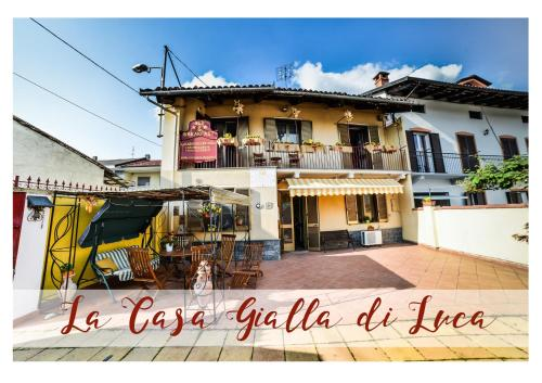 B&B La Casa Gialla Di Luca - Accommodation - Mazzè