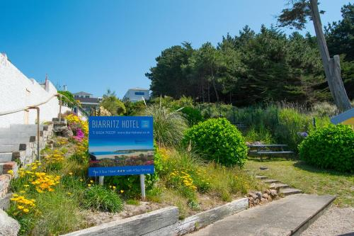 The Biarritz Hotel, Le Mont Sohier, St Brelade, Jersey, JE3 8EA, Channel Islands.
