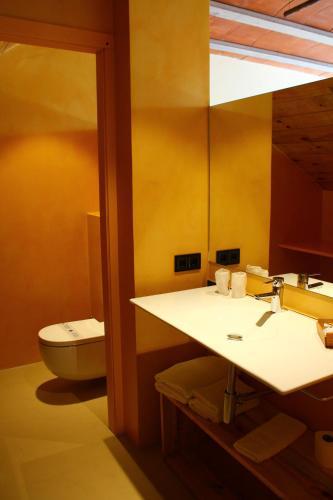 Doppelzimmer mit Terrasse Mas Ravetllat 8
