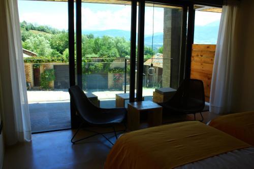 Doppelzimmer mit Terrasse Mas Ravetllat 6