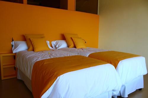 Doppelzimmer mit Terrasse Mas Ravetllat 5