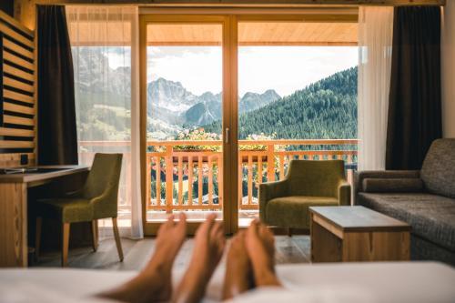 Dolasilla Mountain Panoramic Wellness Hotel Alta Badia-La Villa/Stern