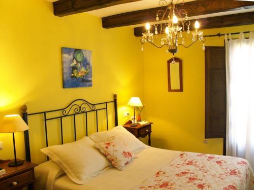 Doppelzimmer mit Aussicht Casa del Infanzón 31