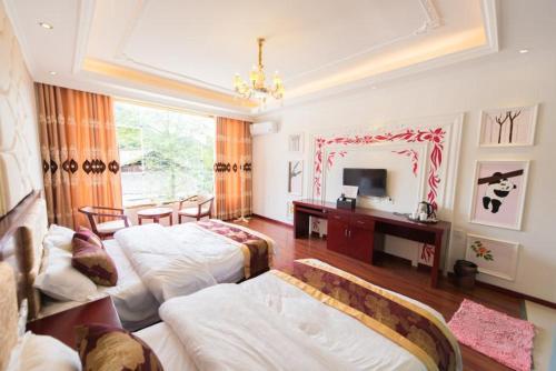 Ya'an Bifengxia Jinshan'ge Inn