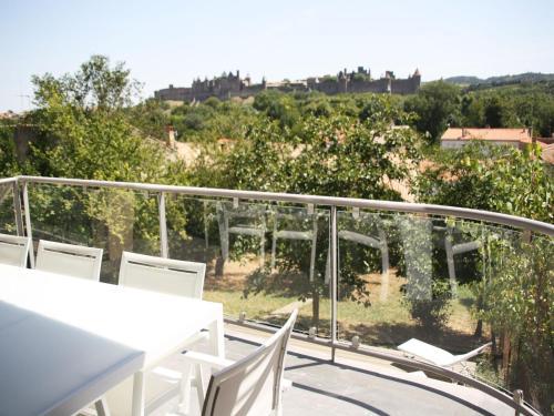 Appartement Le Saint Nazaire - Les Balcons de la Cité - Location saisonnière - Carcassonne