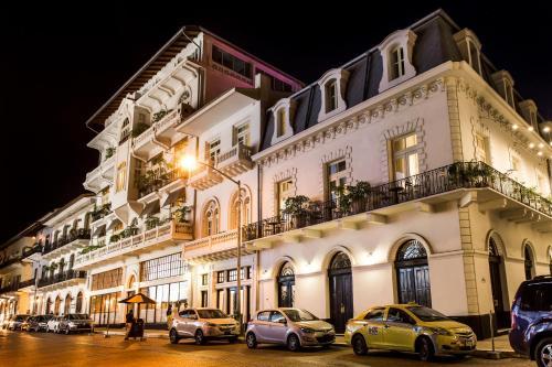 Plaza Herrera, Casco Viejo, Panama City, Panama.