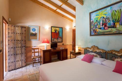 Habitación Doble con terraza Es Revellar Art Resort Adults Only 4