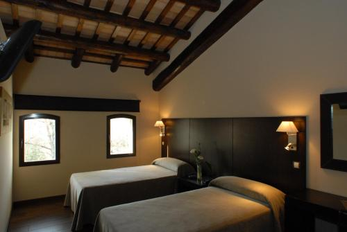 Twin Room - single occupancy Molí Blanc Hotel 12