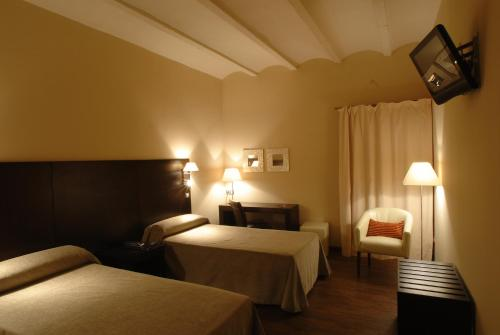 Twin Room - single occupancy Molí Blanc Hotel 8