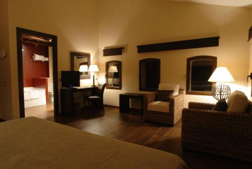 Superior Double  - single occupancy Molí Blanc Hotel 12