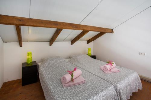 Studio - Split Level with two single beds