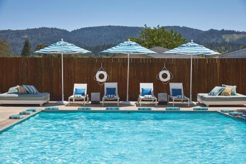 Calistoga Motor Lodge and Spa - Hotel - Calistoga