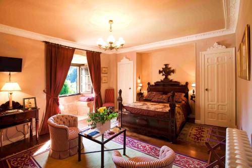 Superior Double Room Pazo de Bentraces 9