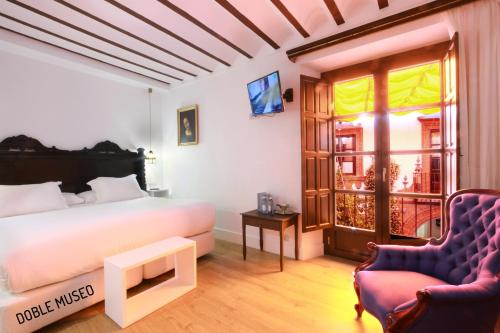 Deluxe Double or Twin Room Hotel Patria Chica 11