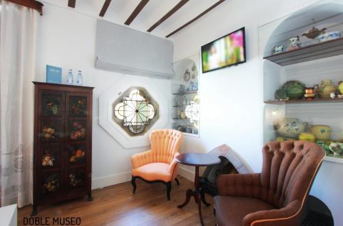 Habitación Doble Deluxe - 1 o 2 camas Hotel Patria Chica 12