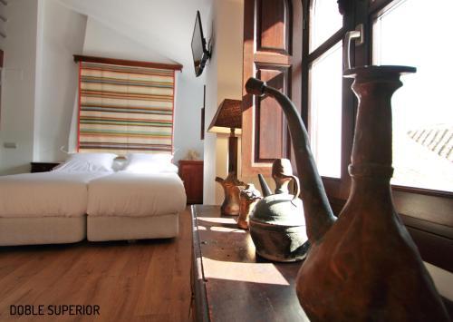 Habitación Doble Superior - 1 cama extragrande o 2 individuales Hotel Patria Chica 16