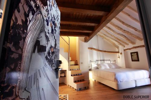 Habitación Doble Superior - 1 cama extragrande o 2 individuales Hotel Patria Chica 7