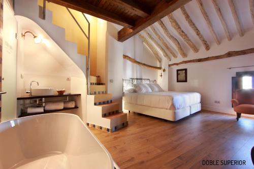 Habitación Doble Superior - 1 cama extragrande o 2 individuales Hotel Patria Chica 6