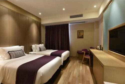 SHANGHAI DECO Hotel Стандартный двухместный номер с 2 отдельными кроватями