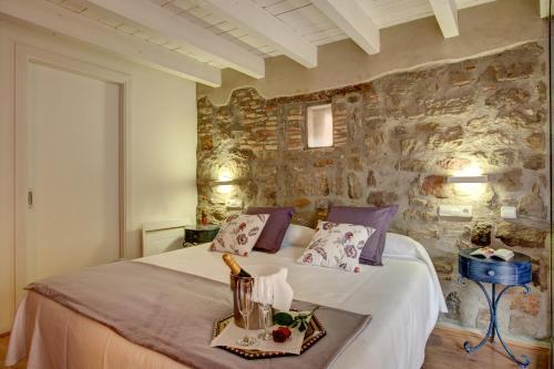 Habitación Doble Deluxe con jardín privado Hotel La Freixera 4