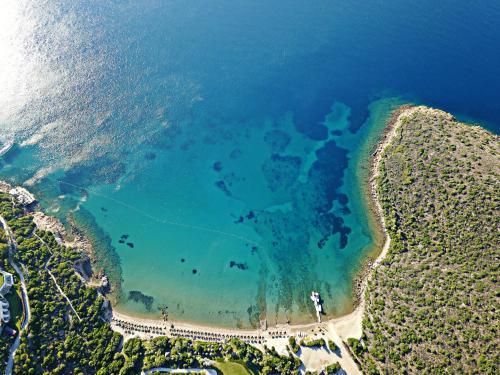 Yaliciftlik Kempinski Hotel Barbaros Bay Bodrum map