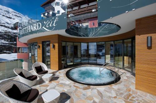 Hotel Gotthard-Zeit - Obergurgl-Hochgurgl