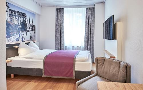 Hotel Central Luzern 룸 사진