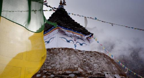 Namche, Solukhumbu, Sagamartha, Nepal.