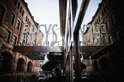Freys Hotel, Bryggargatan 12, 101 31 Stockholm, Sweden.