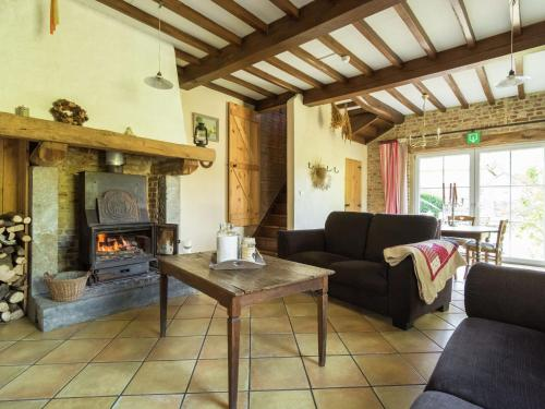 . Quaint Holiday Home in Bievre with Terrace