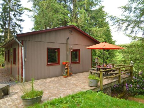 . Budget Chalet in Houffalize Luxembourg with private garden