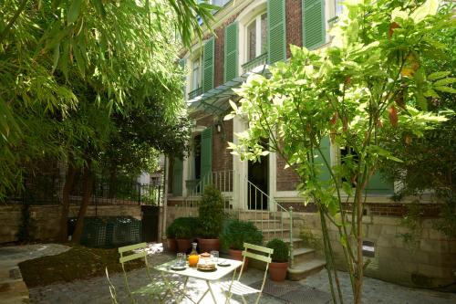 Maison Lepic Montmartre impression