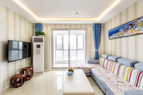Fanya Yueju Service Apartment Yantai Shangshili camera foto