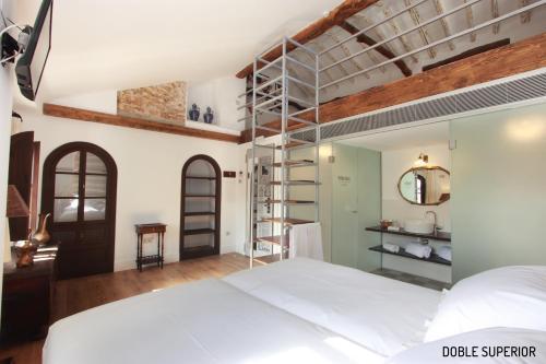 Habitación Doble Superior - 1 cama extragrande o 2 individuales Hotel Patria Chica 4