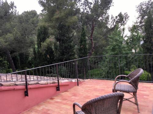 Habitación Doble con vistas - 1 o 2 camas - Uso individual Mont-Sant 17